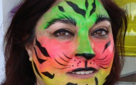 איפור לאירועים- ציורי פנים