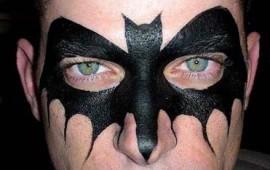 ציור פנים -באטמן