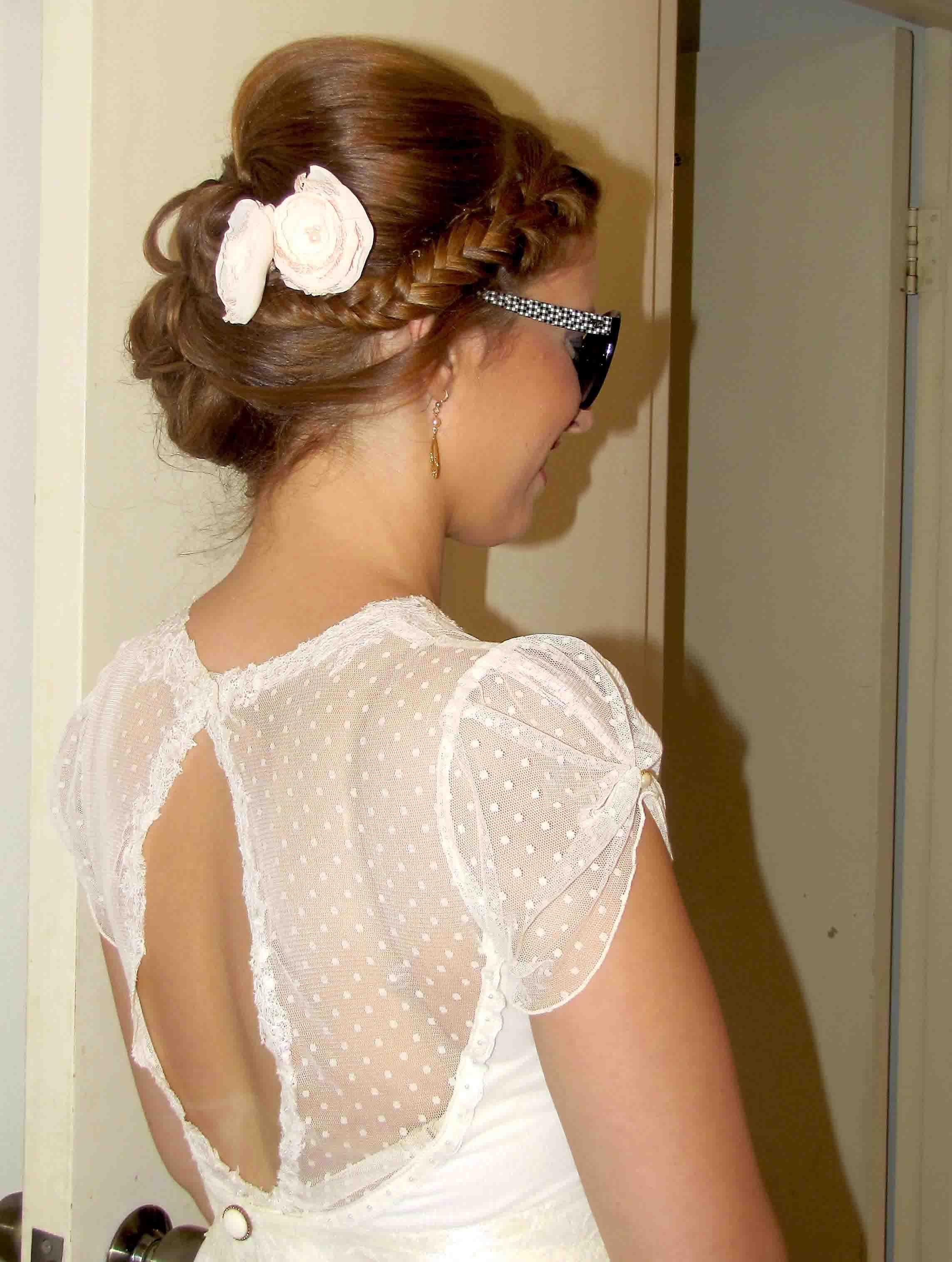 איפור כלות מקצועי ועיצוב שיער לחתונה של דנה
