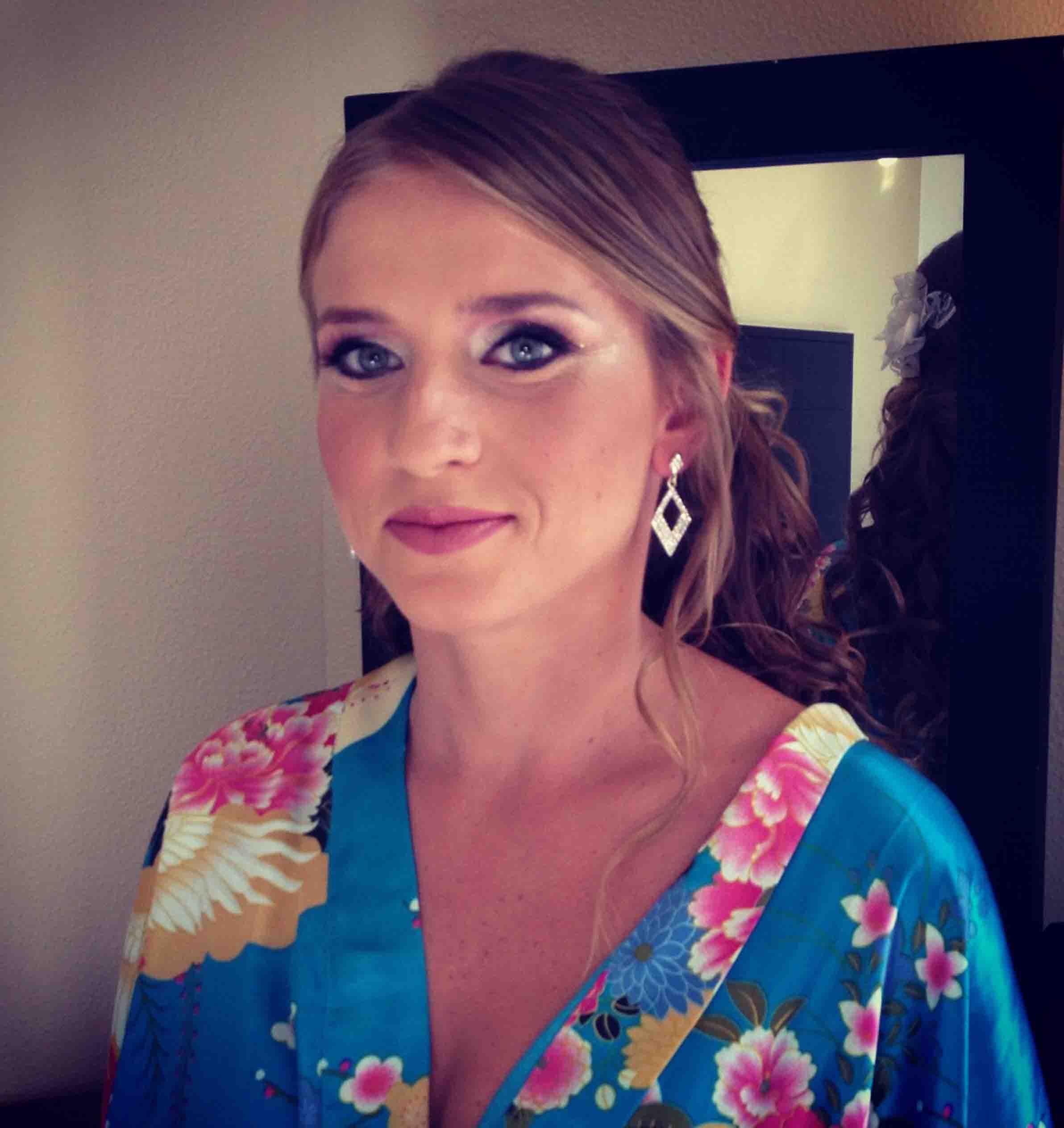 איפור כלות מקצועי ועיצוב שיער לחתונה של נטשה