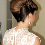 עיצוב שיער לכלות- French twist