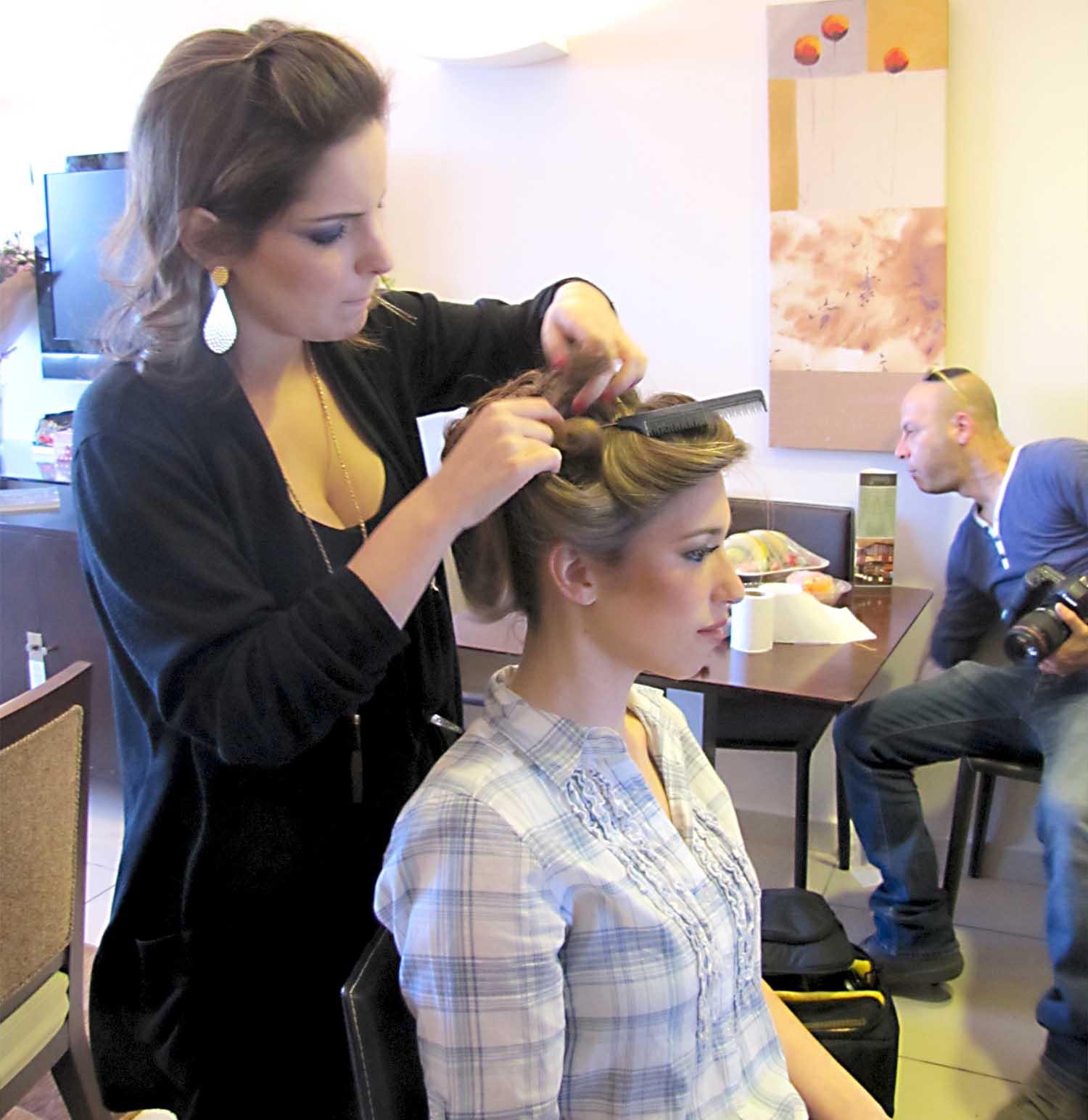 איפור כלות ועיצוב שיער למיטל- עדות מס' 3#